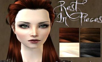Ретекстура женских волос от sims-super-addicted. . The Sims 4. Симс 4 мне