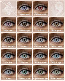 Глаза для Sims 2 скачать