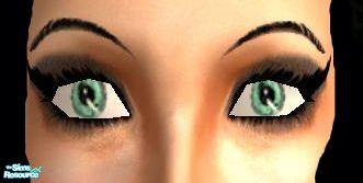 Sims 2 брови