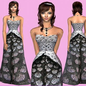 Симс 2 скачать свадебные платья