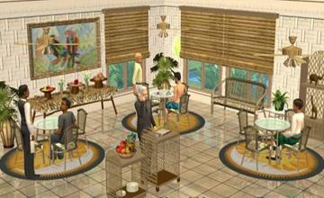 Мебель для столовой Sims 2.