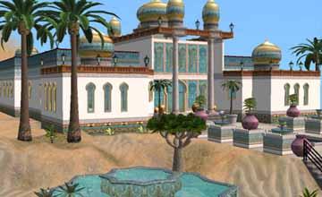 арабский дворец Sims 2