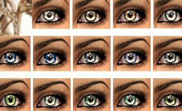 Глаза Sims 2 скачать