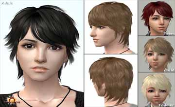 Прически для The Sims 2 - Одежда для The Sims 4