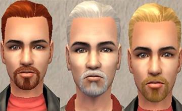 Растительность на лице Sims 2 скачать