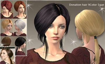 Sims 2 скачать причёски