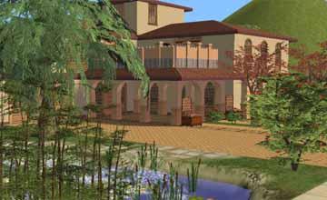 Дворцы Sims 2