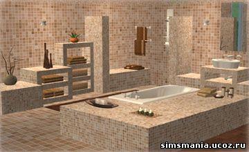 Симс 2 ванные комнаты фото ванных комнат сдам
